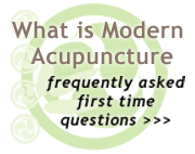 What is modern acupuncture?